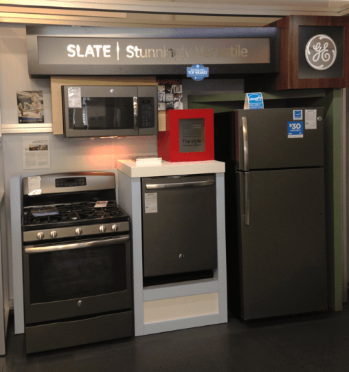 Ge slate appliances revolutionize kitchen style boston - Ge kitchen appliances ...