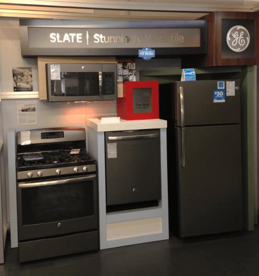 GE Slate Appliances Revolutionize Kitchen Style  Boston Appliance
