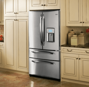 Kitchenaid black stainless steel counter depth french door - The 6 Best Counter Depth Refrigerators Under 4000