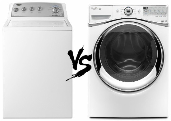 Front Load Vs Top Washers