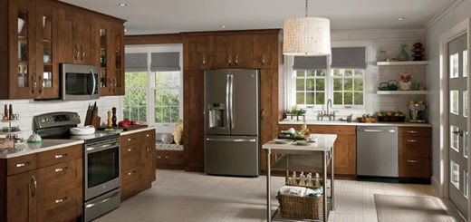 Best Counter Depth Refrigerator 2015 >> Overlay vs. Built-In vs. Integrated Refrigerators: What's ...