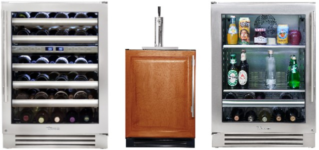 New Display: True Undercounter Wine Refrigerators & Beverage Centers