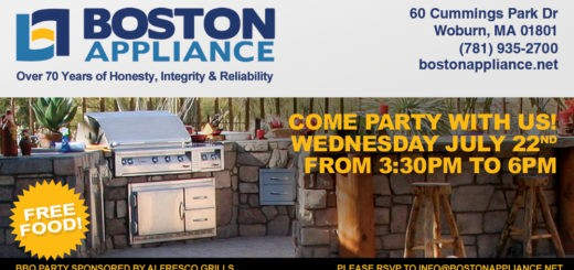 BBQ Party at Boston Appliance!