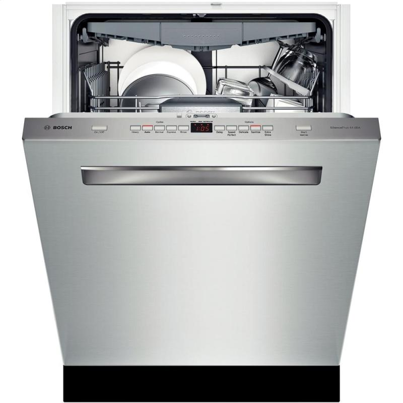 "Bosch 24"" Pocket Handle Dishwasher 500 Series - Stainless Steel Model"