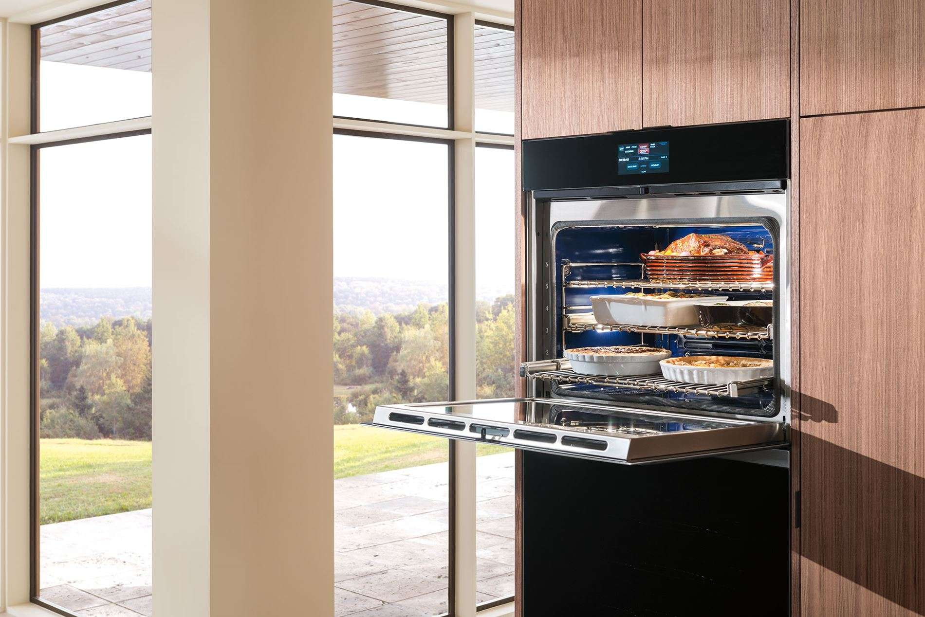 The New Wolf M Series Built-In Ovens