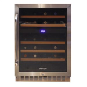 "Renaissance 24"" Wine Cellar - Single Zone with Right Door Hinge"