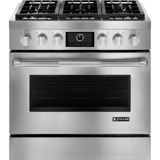 JDRP436WP Jenn Air Professional Dual Fuel 6 Burner Range