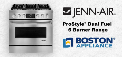 Jenn-Air Professional Dual Fuel 6 Burner Range