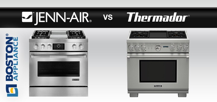 Kitchenaid 48 Stove Range Comparison Jenn Air Vs Thermador
