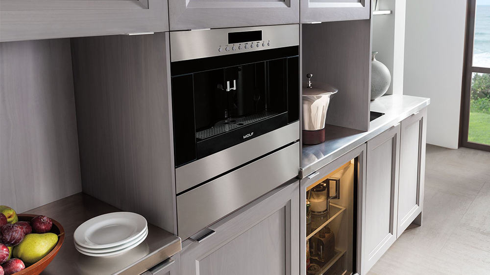 Built In Coffee Maker ~ Wolf built in coffee maker system boston appliance