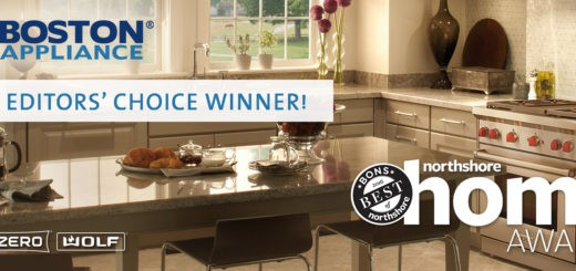 Boston Appliance Sub-Zero Wolf Dealer - BONS 2016 EDITORS' CHOICE AWARD WINNER