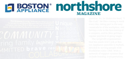 Boston Appliance and NuPath in Northshore Magazine