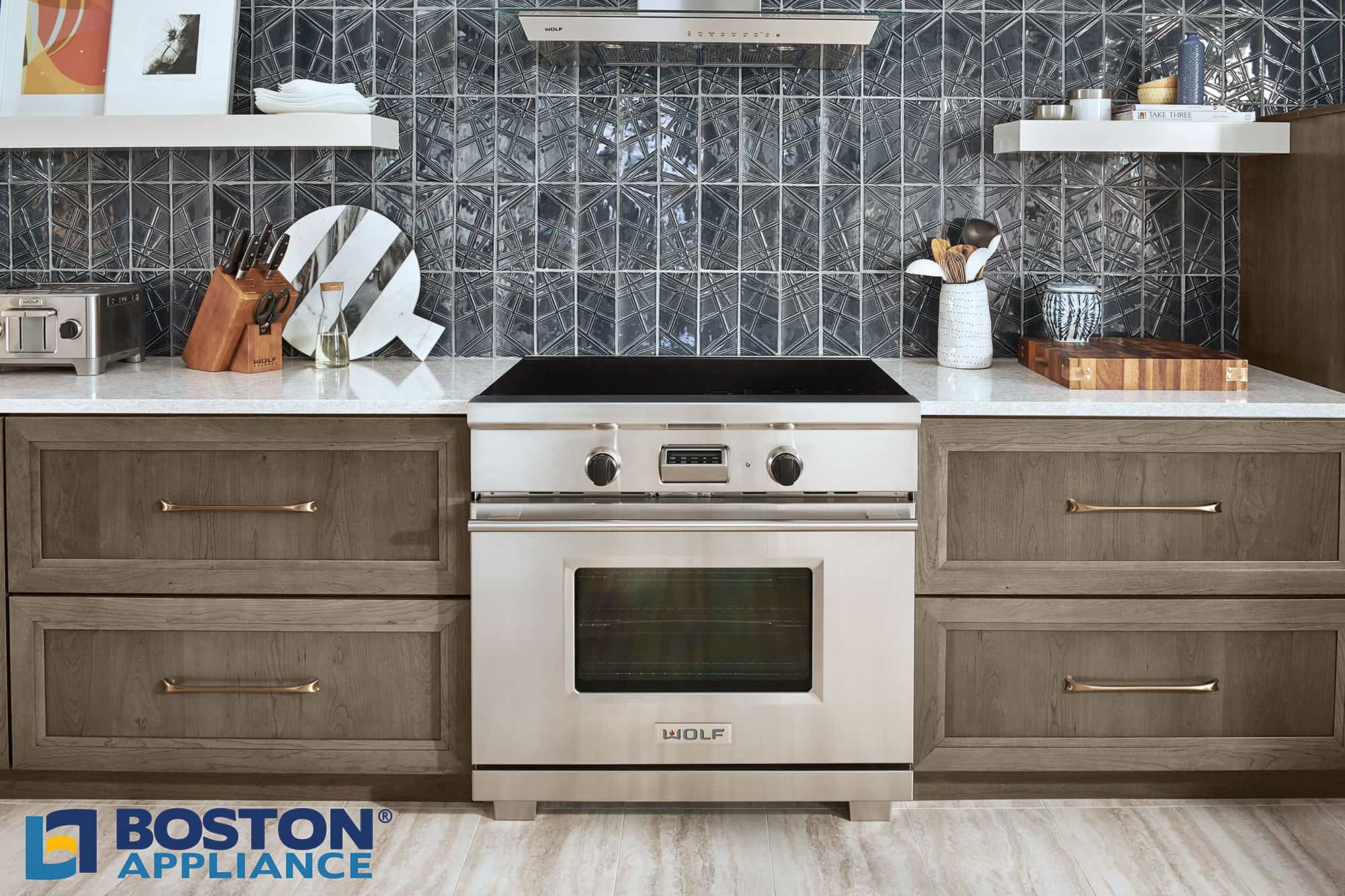 "The Wolf 36"" Transitional Induction Range"
