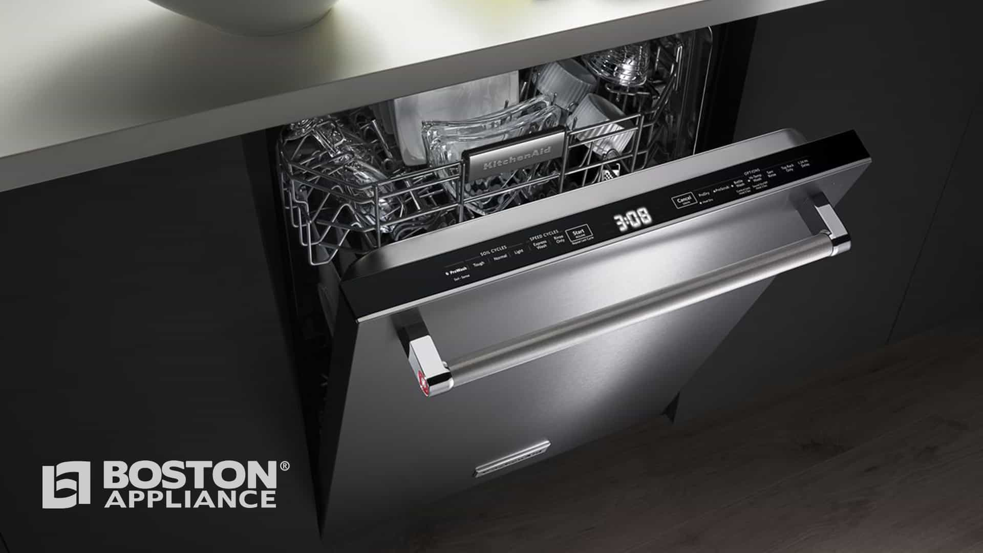 KitchenAid Built-In Dishwasher KDTM704ESS - Boston Appliance