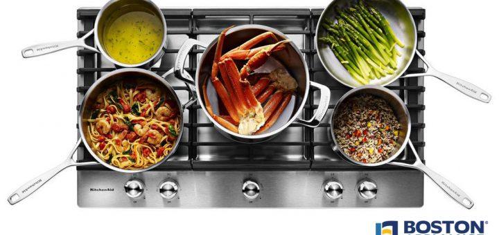 kitchenaid gas cooktop kcgs956ess