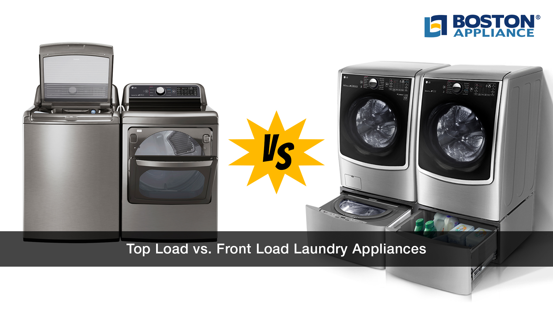 Top Load vs. Front Load Laundry
