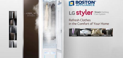 LG Styler Clothing Steamer