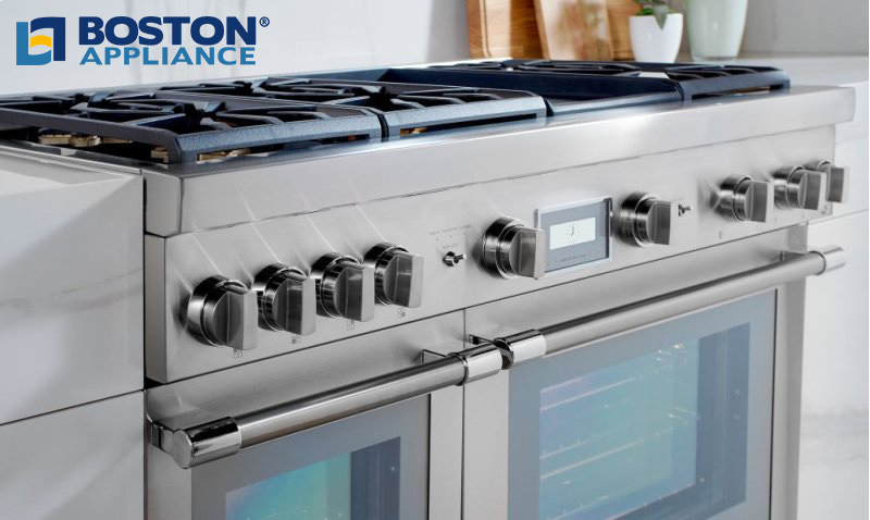 Thermador Pro Grand Dual Fuel Steam Range