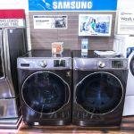 Samsung Washer & Dryer at Boston Appliance